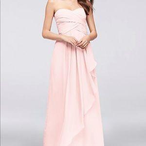 Strapless David's Bridal Dress